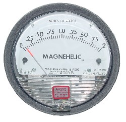 how to use magnehelic properly