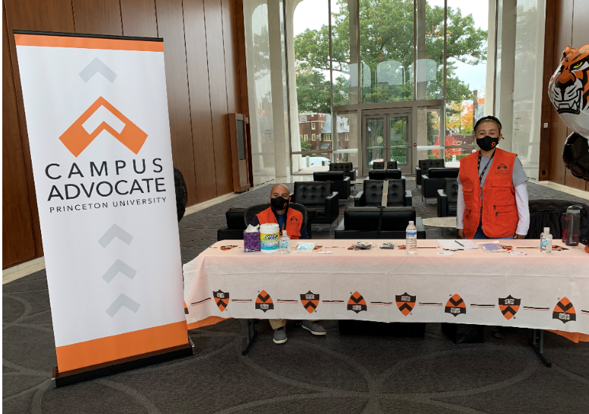 Campus Advocate at Table