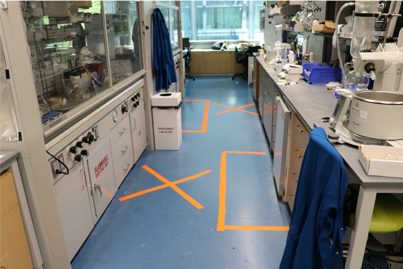 Lab Bench Separation