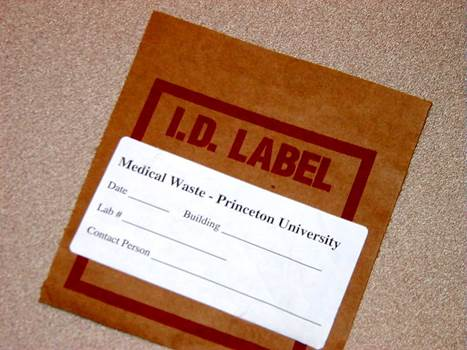 Regulated medical waste boxes and bags must be labeled.