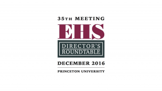 Princeton EHS DIrector's Roundtable